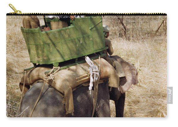 Maharaja Of Darbhanga In Bigar India Carry-all Pouch