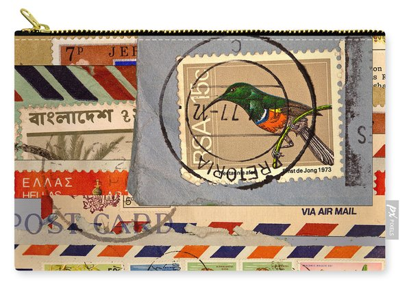 Mail Collage South Africa Carry-all Pouch