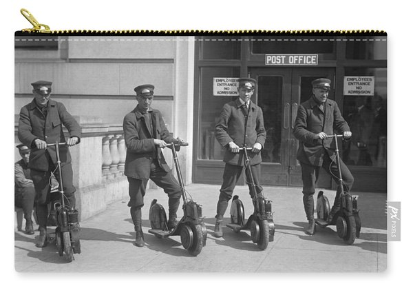 Mailmen On Scooters Carry-all Pouch