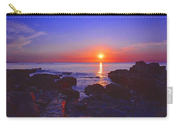 Maine Coast Sunrise Carry-all Pouch
