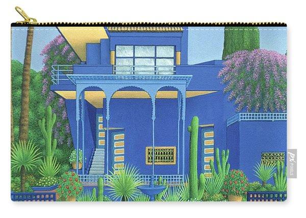 Majorelle Gardens, Marrakech Carry-all Pouch