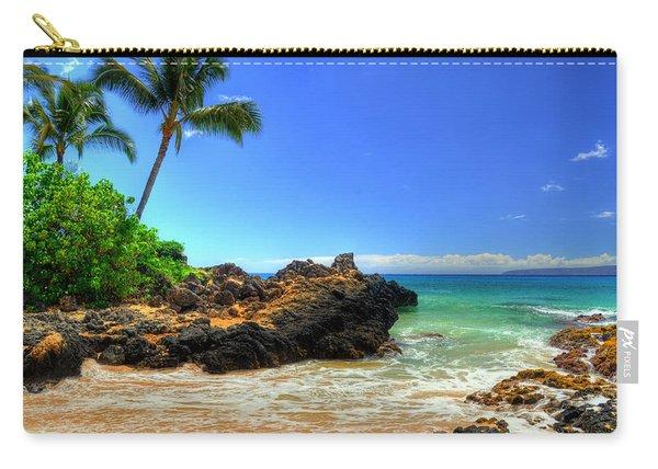 Makena Secret Cove Paako Beach Carry-all Pouch