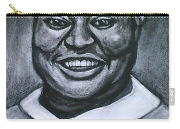 Carry-all Pouch featuring the drawing Hattie by Gabrielle Wilson-Sealy
