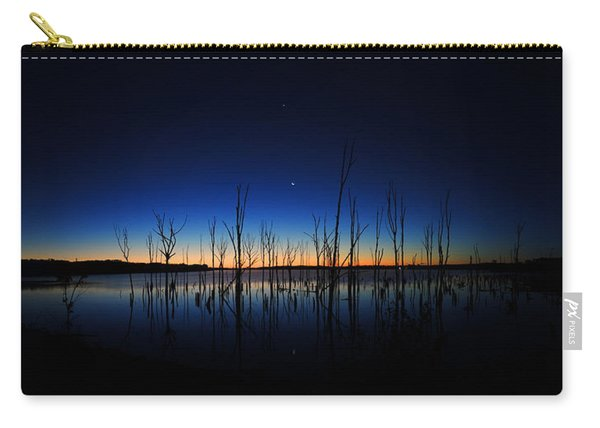 Manasquan Reservoir At Dawn Carry-all Pouch