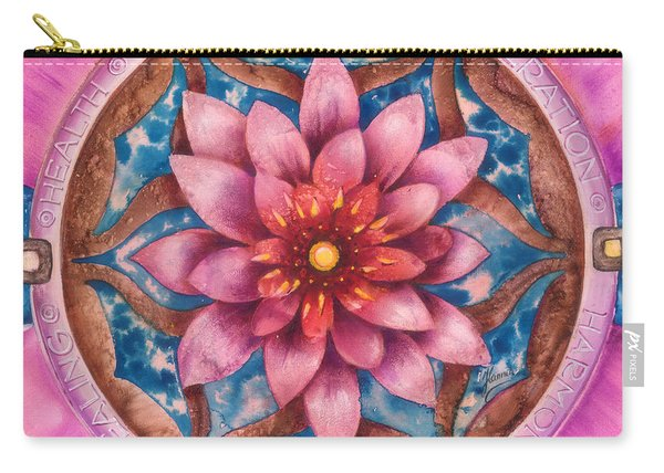 Mandala Of Health Carry-all Pouch