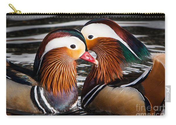 Mandarin Lovers Carry-all Pouch