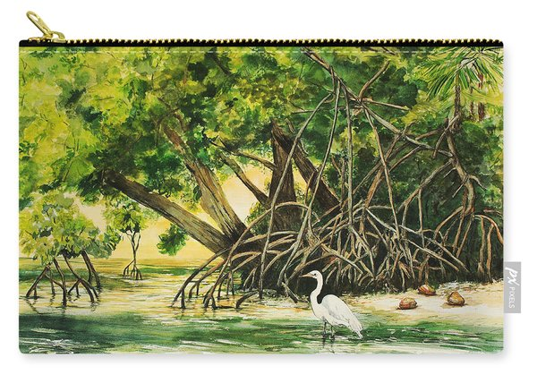 Mangrove Morning Carry-all Pouch
