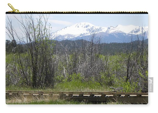 Carry-all Pouch featuring the photograph Lake Manitou Sp Woodland Park Co by Margarethe Binkley
