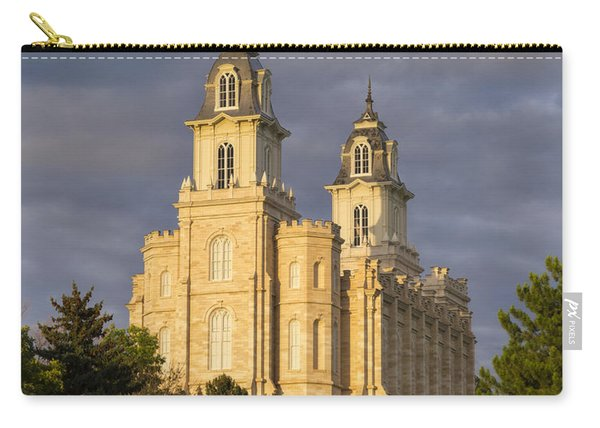 Carry-all Pouch featuring the photograph Manti by Dustin  LeFevre