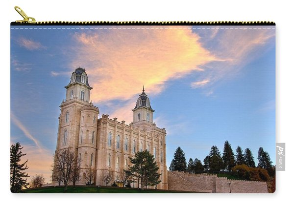 Manti Temple Morning Carry-all Pouch