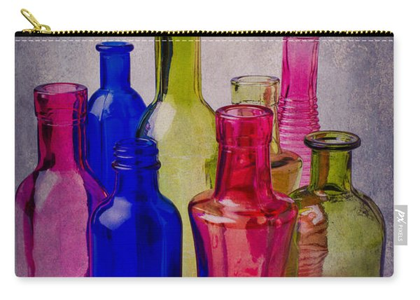 Many Colorful Bottles Carry-all Pouch