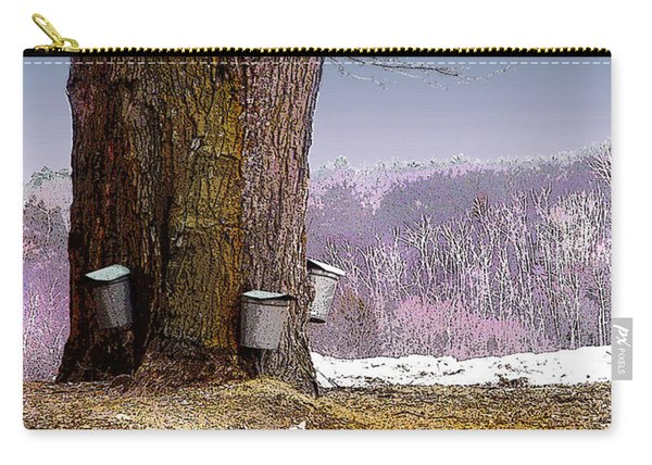 Maple Buckets Carry-all Pouch