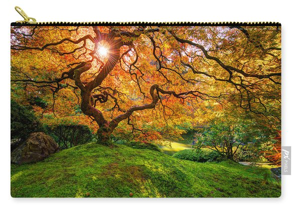 Carry-all Pouch featuring the photograph Maple  by Dustin  LeFevre