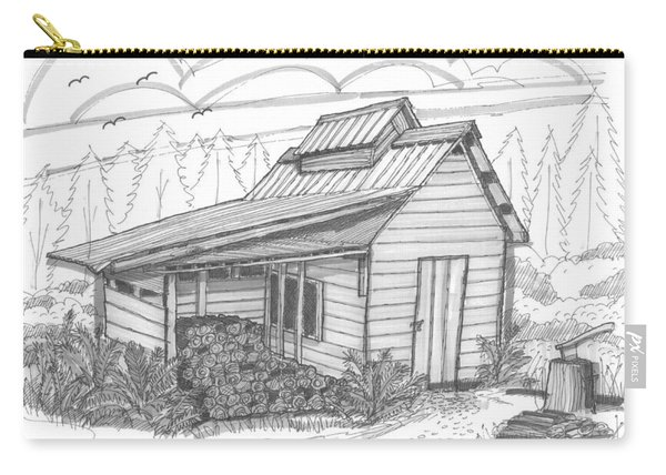 Maple Sugar House Carry-all Pouch