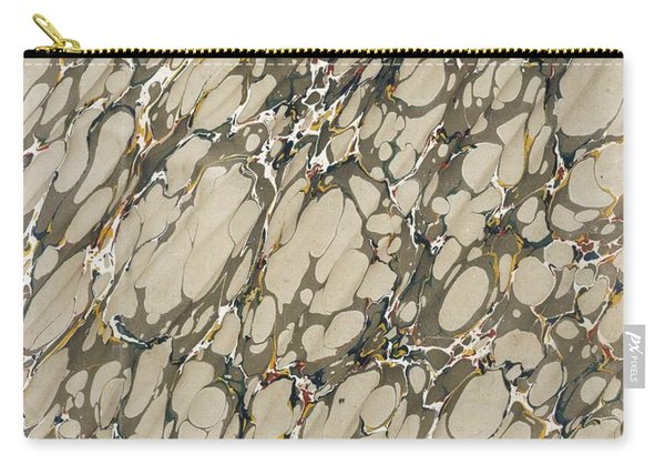 Marble Endpaper Carry-all Pouch