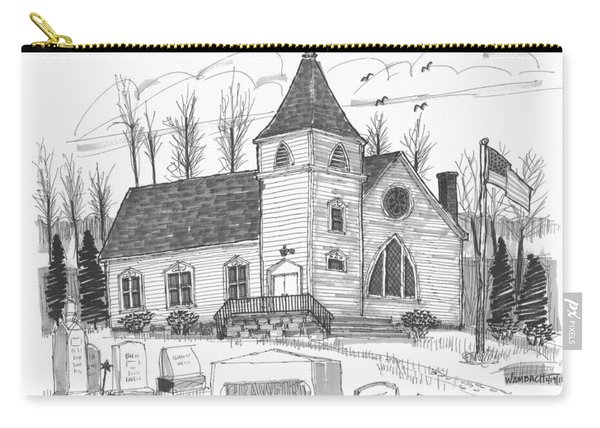 Marbletown Church Carry-all Pouch
