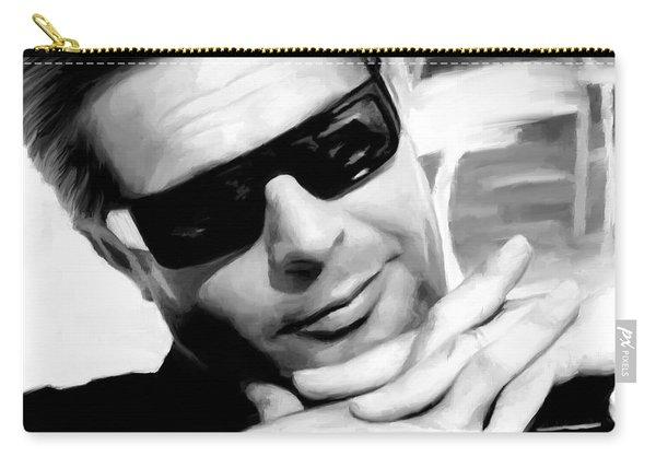 Marcello Mastroianni Portrait Carry-all Pouch