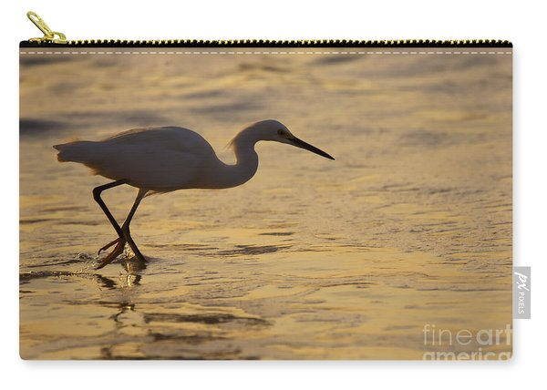 March Of The Egret Carry-all Pouch