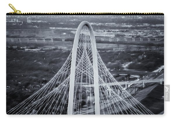 Margaret Hunt Hill Bridge Central Arch Bw Carry-all Pouch
