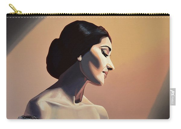 Maria Callas Painting Carry-all Pouch