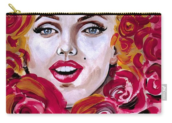 Marilyn Mon-rose Timeless Beauty Carry-all Pouch