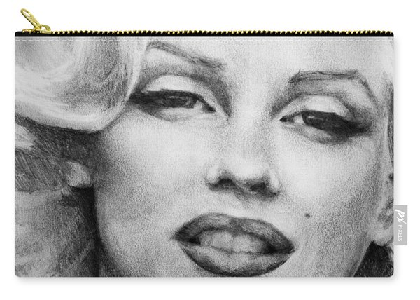 Marilyn Monroe - Close Up Carry-all Pouch
