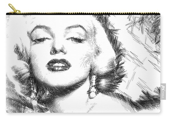 Marilyn Monroe - The One And Only  Carry-all Pouch