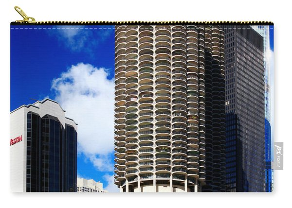 Marina City Corncob Tower Carry-all Pouch