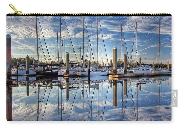 Marina Morning Reflections Carry-all Pouch