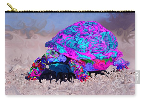 Marine Corporal's Turtle In Peace Paint V2 Carry-all Pouch