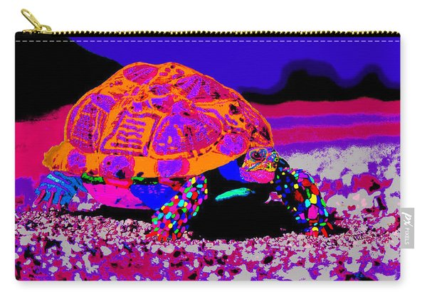 Marine Corporals Turtle In Peace Paint V3 Carry-all Pouch