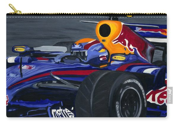 Mark Webber R B R Charging 2008  Carry-all Pouch