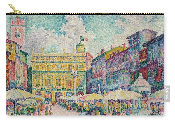 Market Of Verona Carry-all Pouch