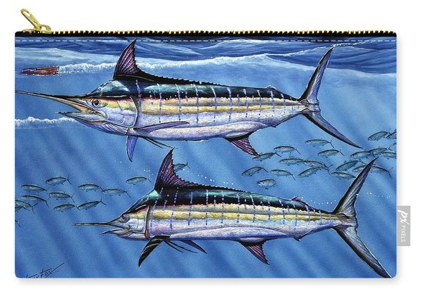 Marlins Twins Carry-all Pouch