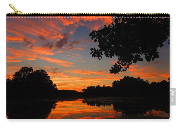 Marlu Lake At Sunset Carry-all Pouch