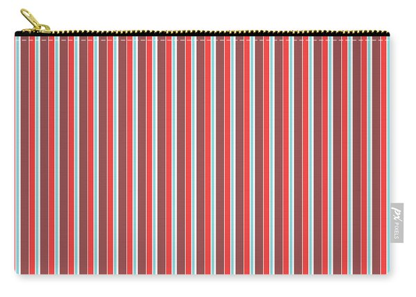 Marsala Stripe 2 Carry-all Pouch