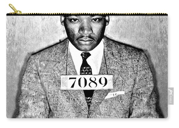 Martin Luther King Mugshot Carry-all Pouch