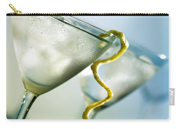 Martini With Lemon Peel Carry-all Pouch