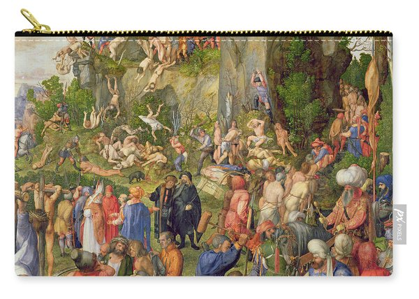 Martyrdom Of The Ten Thousand, 1508 Carry-all Pouch