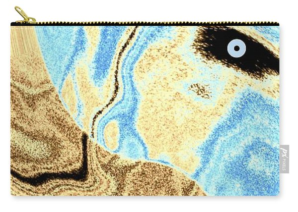 Masked- Man Abstract Carry-all Pouch