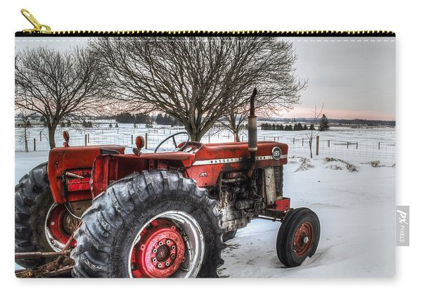 Carry-all Pouch featuring the photograph Massey Ferguson 165 by Garvin Hunter
