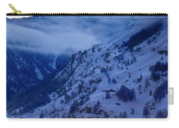 Carry-all Pouch featuring the photograph Matterhorn At Twilight by Brian Jannsen
