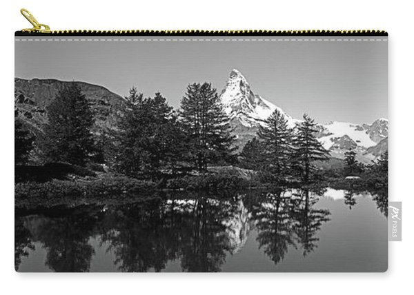 Matterhorn Reflecting Into Grindjisee Carry-all Pouch