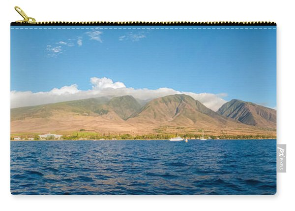 Maui's Southern Mountains   Carry-all Pouch