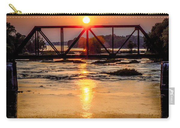Maumee River At Grand Rapids Ohio Carry-all Pouch