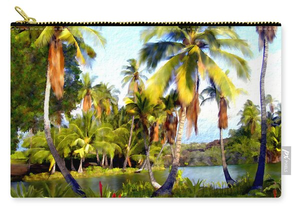 Mauna Lani Fish Ponds Carry-all Pouch