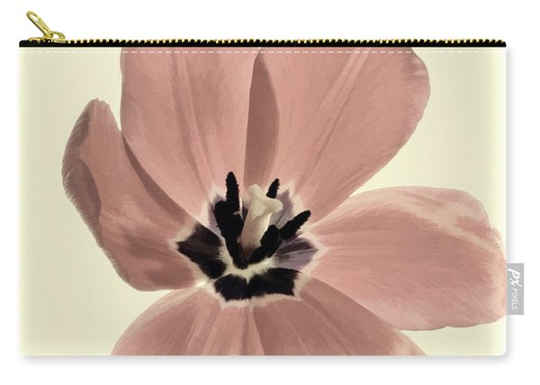 Mauve Tulip Transparency Carry-all Pouch