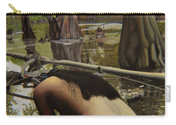 May Morning Arkansas River  2 Carry-all Pouch