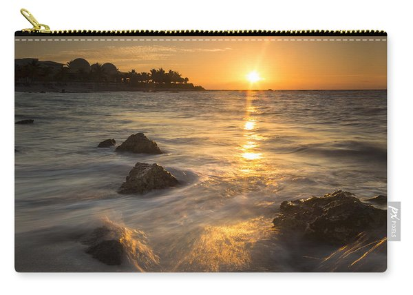 Mayan Coastal Sunrise Carry-all Pouch