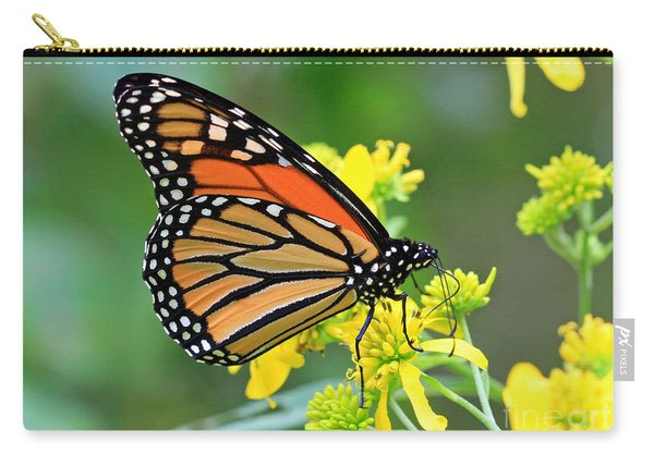 Meadow Monarch Carry-all Pouch